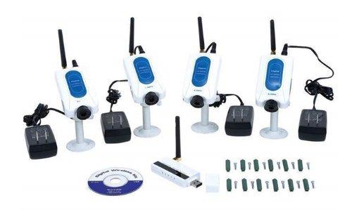 DB Power 4CH 4 Camera Wireless Security Spy Camera System Surveillance Audio USB Receiver at Sears.com