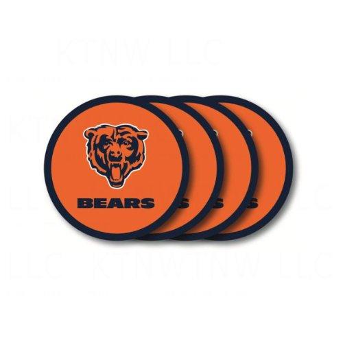 Chicago Bears Coaster Set - 4 Pack