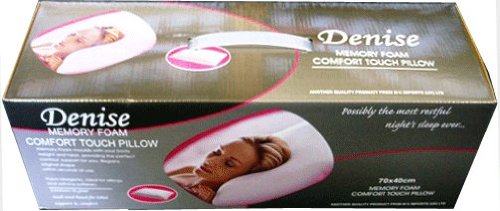 Denise Memory Foam Pillow - 70x 40cm