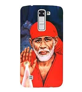 Sai Baba Sai Ram 3D Hard Polycarbonate Designer Back Case Cover for LG K10 :: LG K10 Dual SIM :: LG K10 K420N K430DS K430DSF K430DSY
