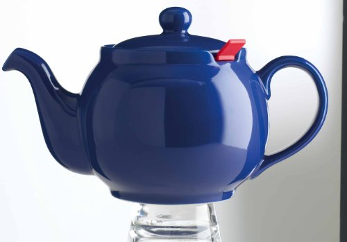 London Teapot Company-Chatsford 4-Cup Teapot With One Red Filter, Blue