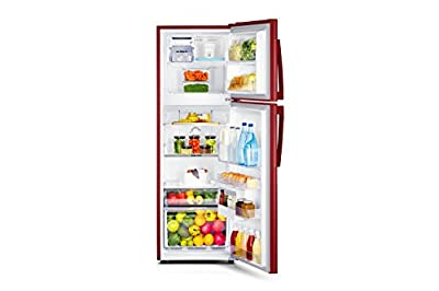 Samsung RT29HAJSARX Frost-free Double-door Refrigerator (275 Ltrs, 3 Star Rating, Orcherry Garnet Red)