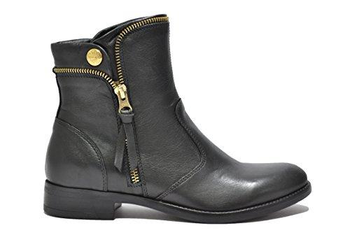 Nero Giardini Tronchetti scarpe donna nero 6142 A616142D 39