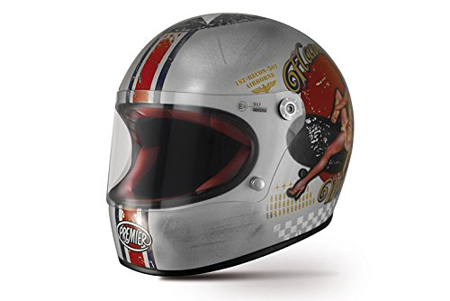 Premier Casco Premier Trophy Pin Up Old Style Silver, Multicolore, L