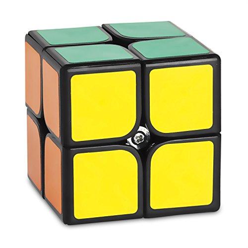 zauberwurfel-2x2-speedcube-cubikon-dy-schwarz-schneller-und-robuster-profi-speed-cube-2x2-mit-optimi
