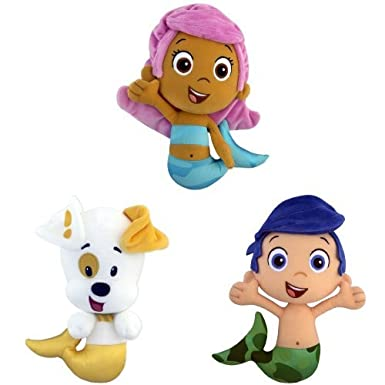 Nickelodeon Plush Bubble Guppies Bundle