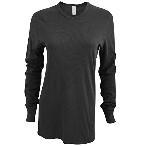 american-apparel-unisex-baby-thermal-long-sleeve-t-shirt-m-black