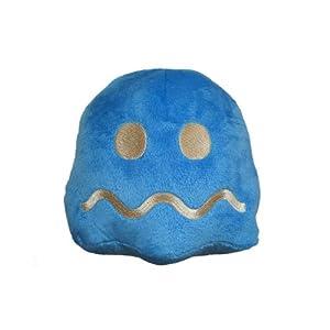 Pac-Man (Pacman) Collectable Plush Stofftier / Plüsch Figur: Geist (Blau) 15 cm
