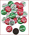 Christmas Peppermint Patties - Chocolate Mint - Candy by Fun Express