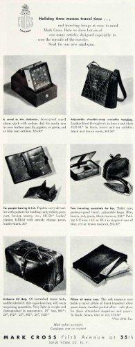 1948-ad-mark-cross-travel-accessories-clock-handbag-wallet-kit-pillow-new-york-original-print-ad