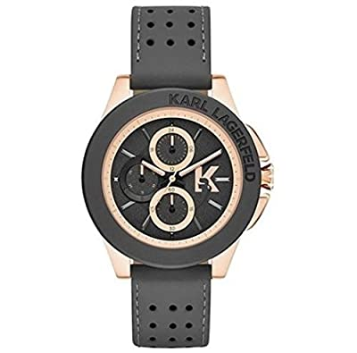 Karl Lagerfeld KL1411 Chronograph Leather Strap Men's Watch