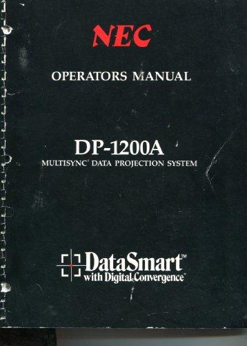 NEC Operators Manual DP-1200