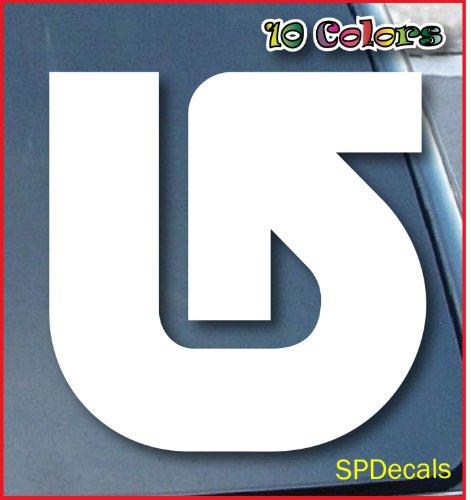 bumper-sticker-decals-burton-arrow-car-window-vinyl-decal-sticker-101mm-tall-color-white