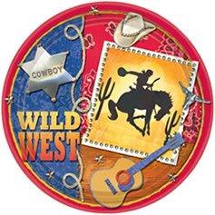 Wild West Dinner Plates 8ct - 1