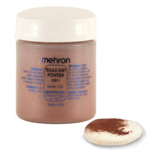 Mehron Texas Dirt Special Effects Makeup Powder (1 oz) - 1