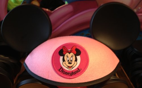 "Disneyland Minnie Mouse Classic ""Pink"" Ears Hat"