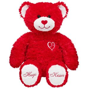 Build-A-Bear Workshop 15 in. Sweet Hugs & Kisses Teddy Plush Stuffed Animal