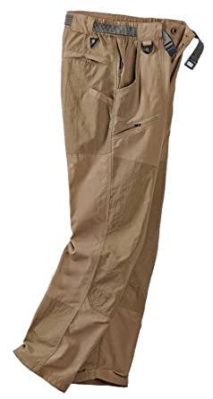 Mens Insect Repellent and Sun Protection Weatherpants with 30 Inseam by Sun Grubbies