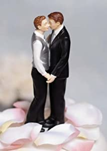 Gay Wedding Cake Topper - Gay Wedding Planning