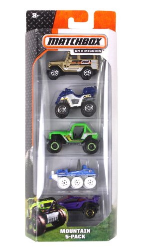 Matchbox Mountain 5-Pack - 1