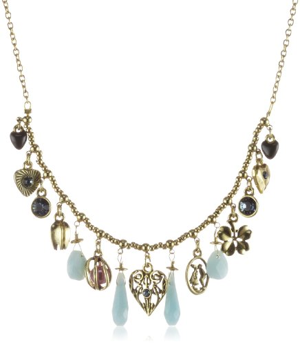 Pilgrim Lovestory 548-431 Ladies' Necklace Gold-Plated