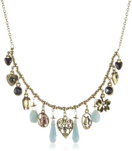 Pilgrim Lovestory 548-431 Ladies' Necklace Gold-Plated