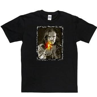 Lemmy Flame T-shirt (black/colour small)