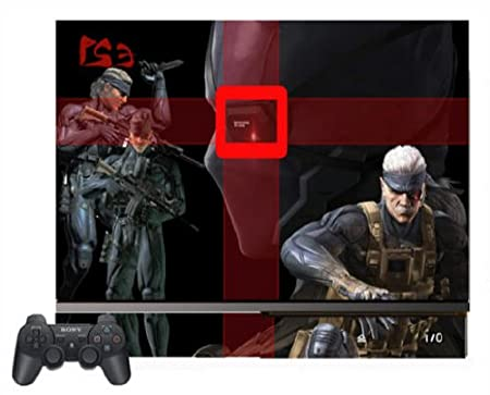 Metal Gear Solid 4 MGS4 Game Vinyl Decal Skin Protector Cover #2 for Sony Playstation 3 PS3