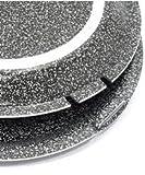Furbo Testo 32 cm in Alluminio Ceramicato con rivestimento antiaderente: girafrittata forno grill cuocitutto