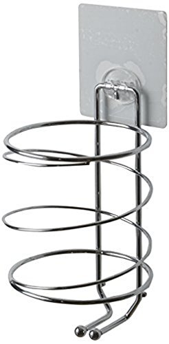 compactor-chrome-plated-steel-wire-bestlock-magic-removable-hairdryer-holder-silver