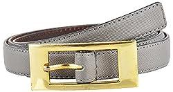 Midas Women's Belt (H607_36 , Grey)