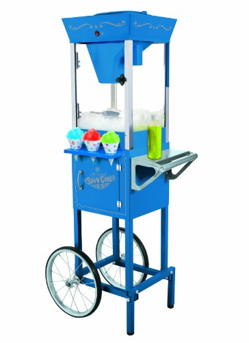 Buy Bargain Nostalgia Electrics SCC200 Vintage Collection 53-Inch Snow Cone Cart