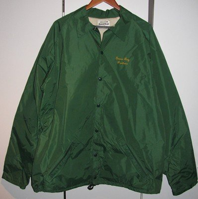 1960'S Green Bay Packers Game Used Coach's Jacket Packers Sand-Knit Medalist - Size 52 at Amazon.com