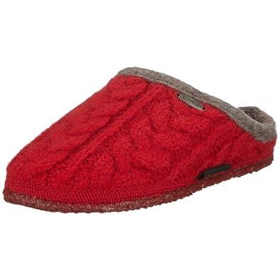 GiessWeiß Neudau 34/10/42471 Unisex-Erwachsene Pantoffeln Rot (Kirsche) 36