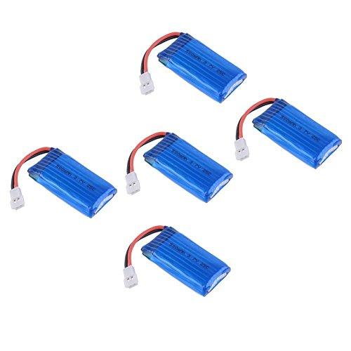 Yacool ® Rc Accessoires 3.7v 500mah de la Lipo batterie pour Hubsan X4 H107c H107d H107l Rc Quadcopter