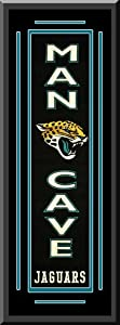 Jacksonville Jaguars Heritage MAN CAVE Banner Double Matted Framed Awesome &... by Art and More, Davenport, IA