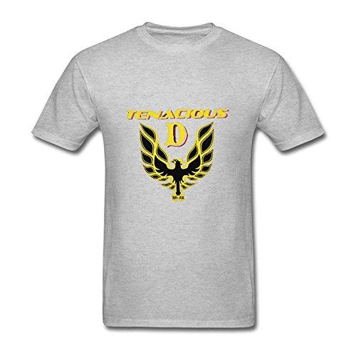 Men's Tenacious D Logo T-Shirt M ColorName Short Sleeve Large