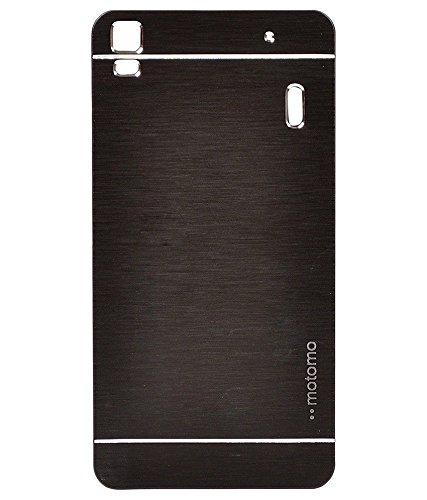 SKYLIGHT SK Lenovo K3 Note & A7000 MOTOMO Metallic Finish Hard Back Case Cover Colour Gold