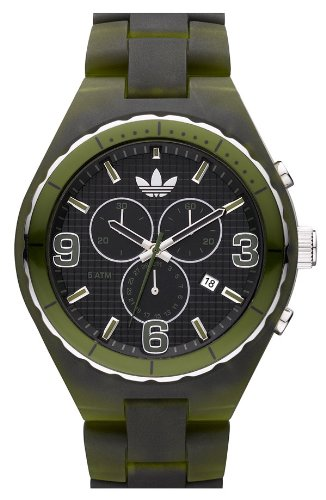Adidas Cambridge Chronograph Green Polycarbonate Unisex Watch ADH2566