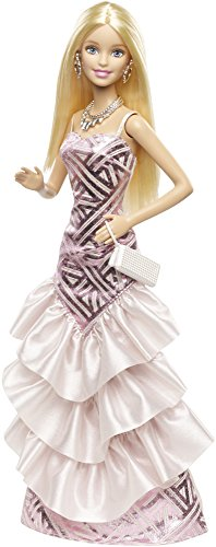 Barbie CHH06 - Gala in Rosa: Gonna a Balze