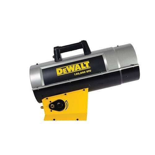 Dewalt F340725 DXH150FAV 110,000 - 150,000 BTU Forced Air Propane Heater