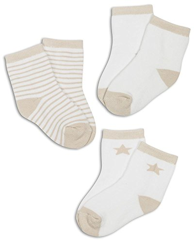 The Essential One - 3 Stuck Baby Socken - Unisex - 0-6 Monate - ESS102