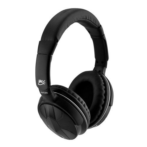 Meelectronics Air-Fi Venture Stereo Bluetooth Wireless Headphones With Headset Functionality (Black)