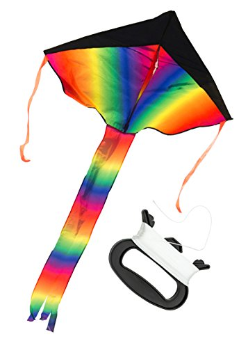 rainbow-delta-kite-large-easy-to-assemble-launch-fly-200-of-line-premium-quality-one-of-the-best-kit