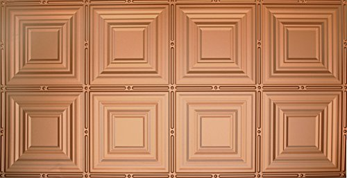 Global Specialty Products Pattern No.320 Tin Style Panel, 2 by 4-Feet, Copper (Copper Panels compare prices)