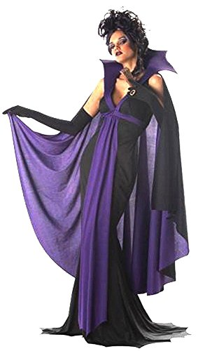 Halloween Horror Gothic Vampire Imortal Mistress Countess Costume Gown Small