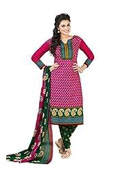 Shivani womens Cotton unstiched Salwar Suit Material(901_Multi-Colour)