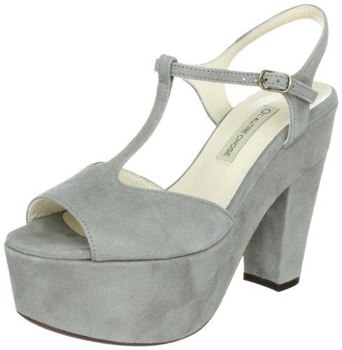 L'Autre Chose Sandalo Donna LD3223.13GPT0540, Sandali donna, Grigio (Grau (Agave 6009)), 40