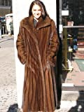 ELEGANT NEW SCANGLO MINK FUR COAT sz10 #10845