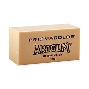 Prismacolor Design ArtGum Erasers,   Beige, 12-Pack (73030)